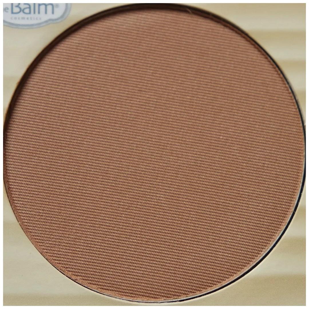 the balm balm desert bronzer blush review swatch