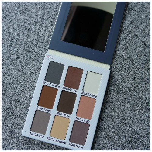the balm meet matte matt(e) matt nude eyeshadow palette review swatch