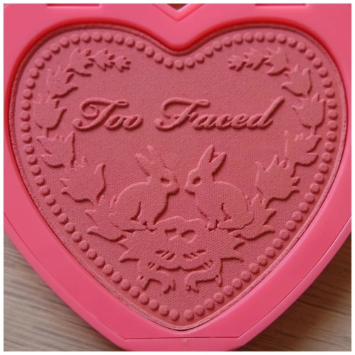 too faced love flush blush how deep is your love review swatch