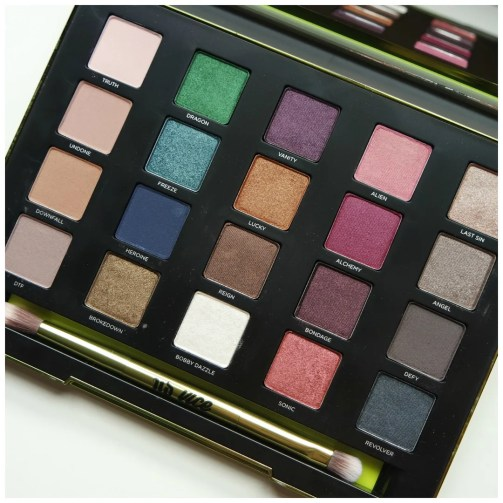urban decay vice 3 eyeshadow palette review