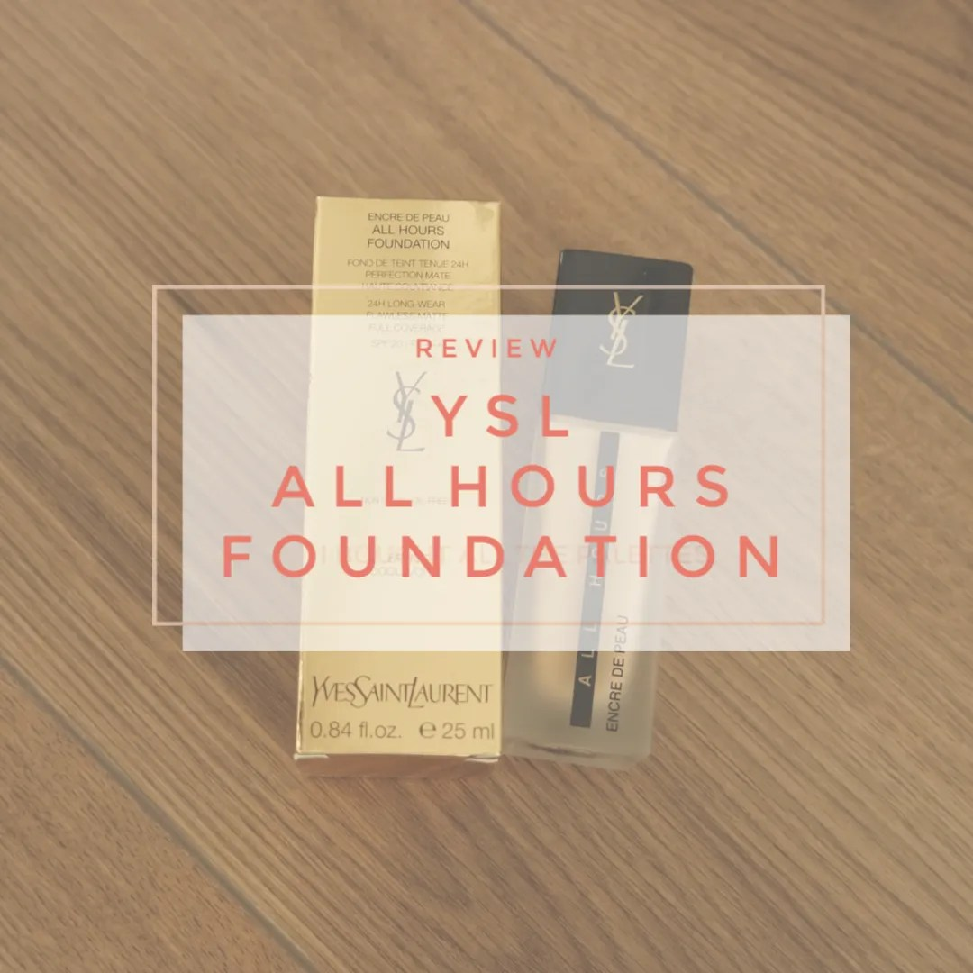 ysl yves saint laurent foundation all hours review swatch fair skin dry skin br20 cool ivory
