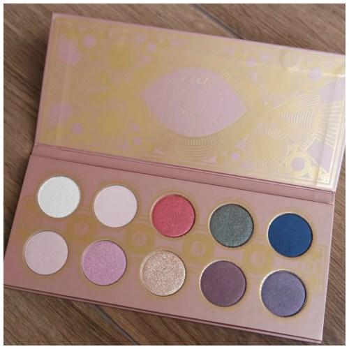 zoeva eye see eyeshadow palette review swatch makeup look