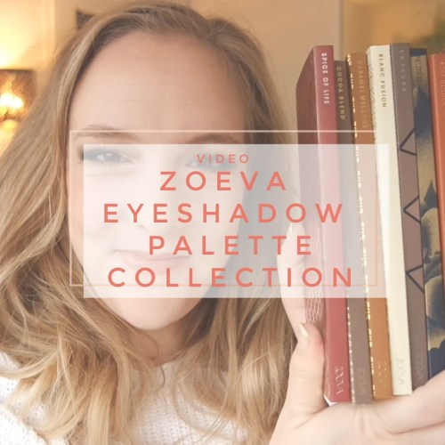 zoeva eyeshadow palette collection review swatch