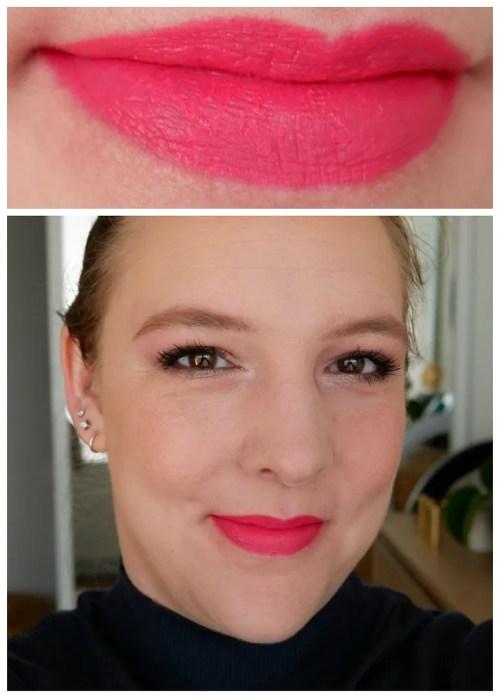 lisa eldridge lipstick review swatch makeup look lipswatch lip colour insanely saturated true velvet velvet muse velvet ribbon skyscraper rose rainbow spill