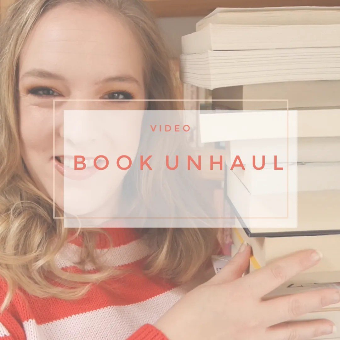 book unhaul 2019 declutter bookshelf