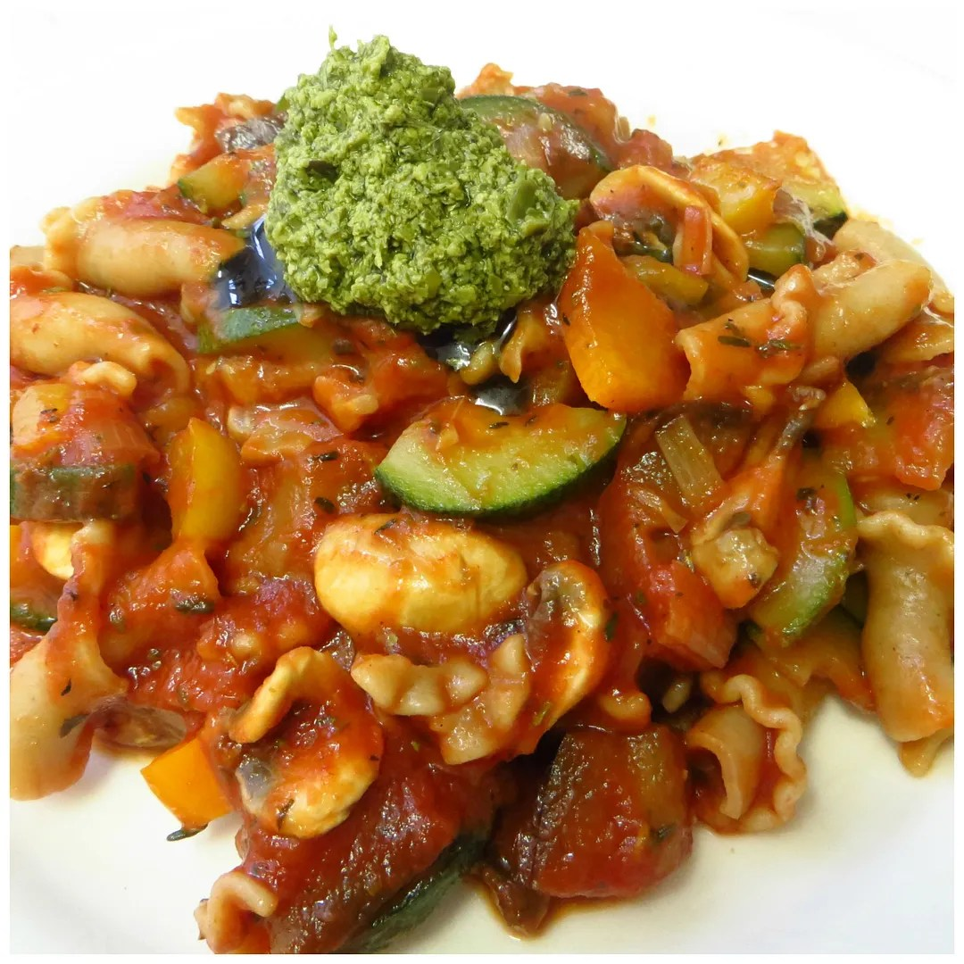 Recipe: Vegetarian pasta