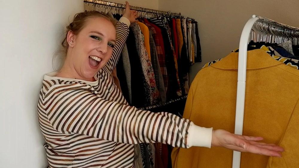 wardrobe declutter tour