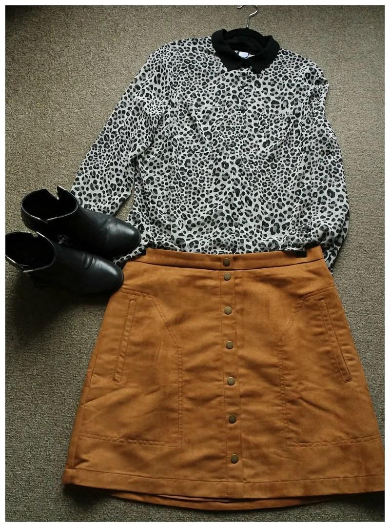 how I wear leopard print
