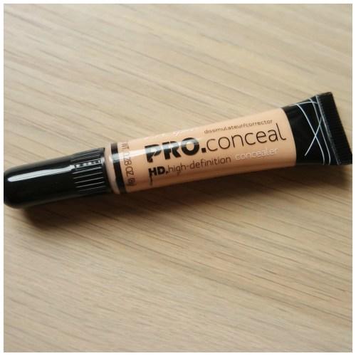 LA Girl Pro Conceal HD Concealer Corrector Light Ivory
