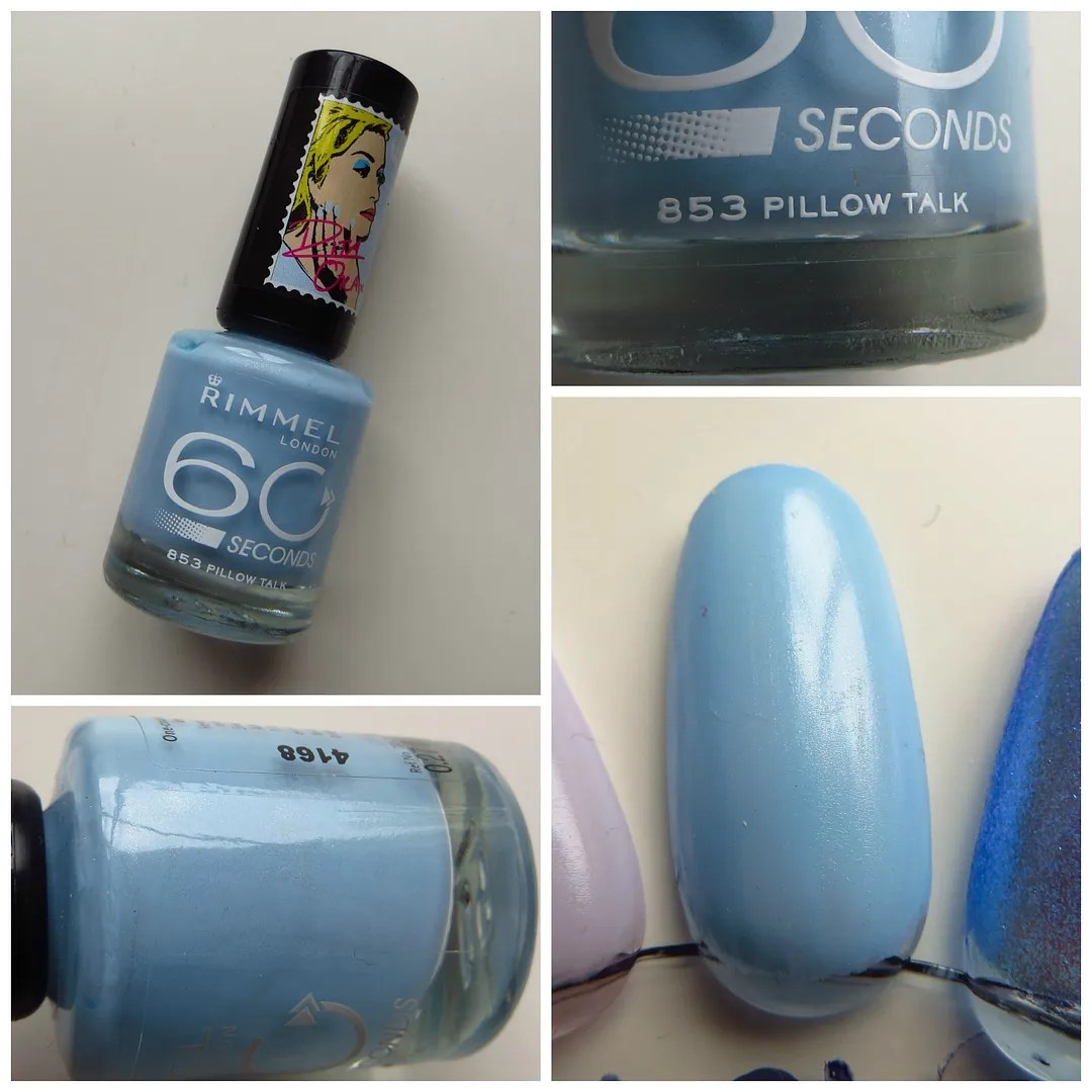 Rimmel 60 seconds 853 Pillow Talk