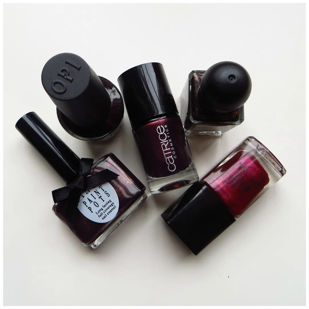 5x dark nail polish colors for fall – Floating in dreams