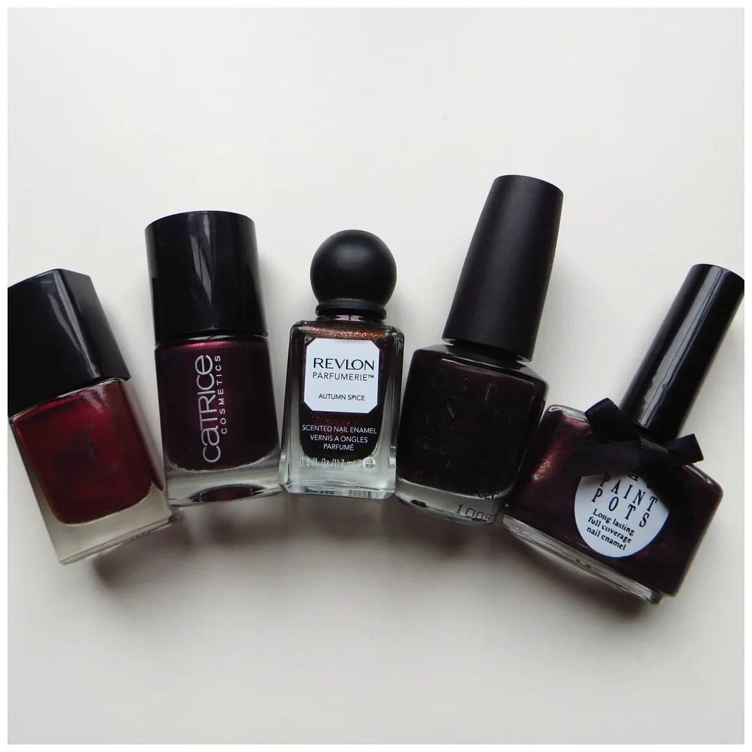 5x dark nail polish colors for fall – Floating in dreams