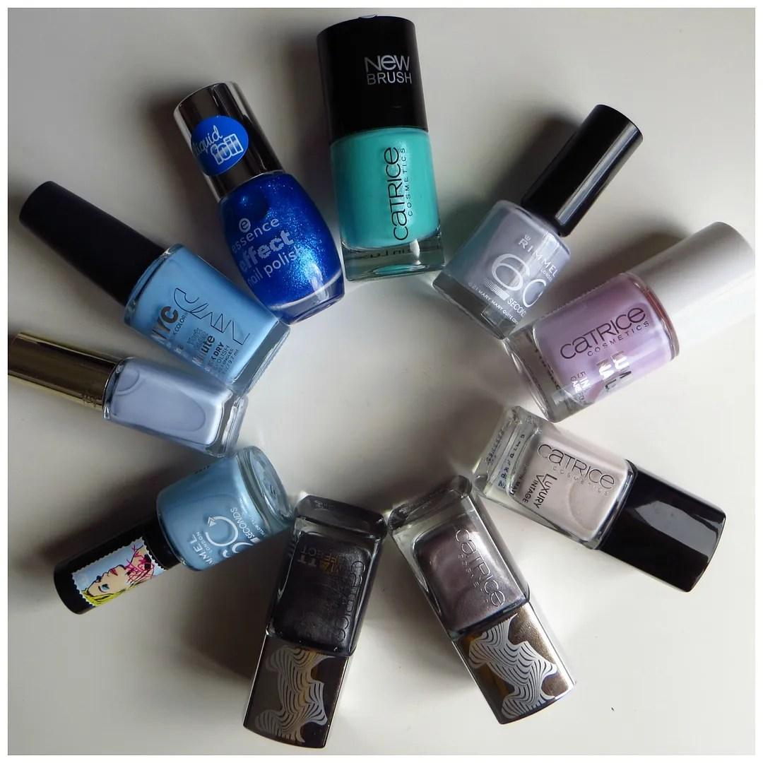 Drugstore nail polish haul – Floating in dreams