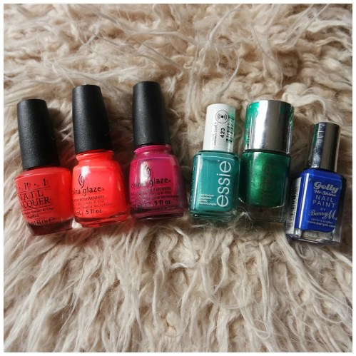 favorite summer nail polishes