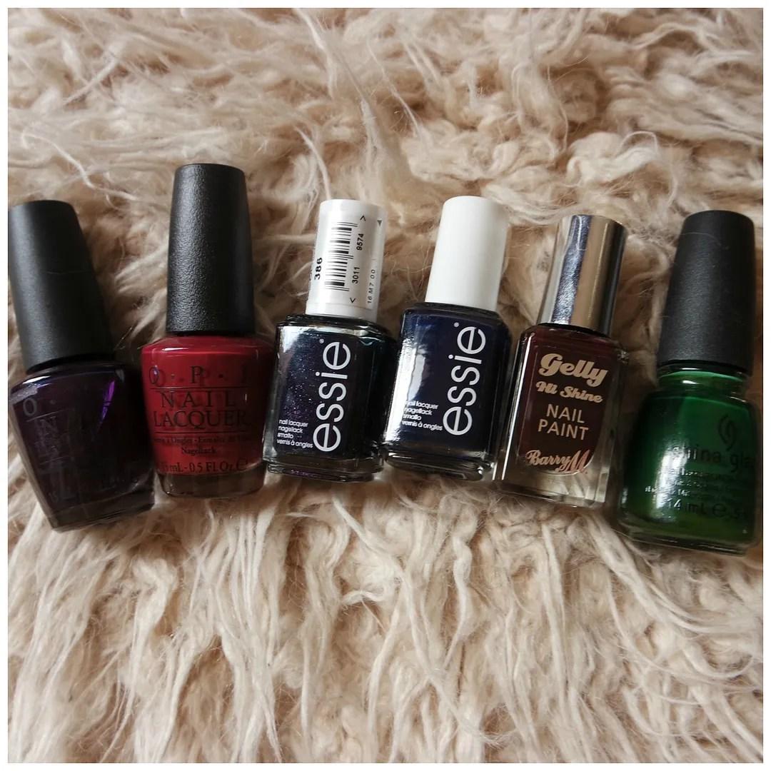 winter nail polishes