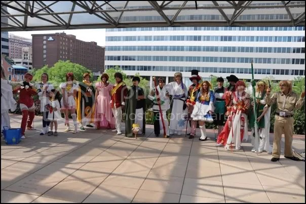 CLAMP Saturday Gathering at Otakon 2012
