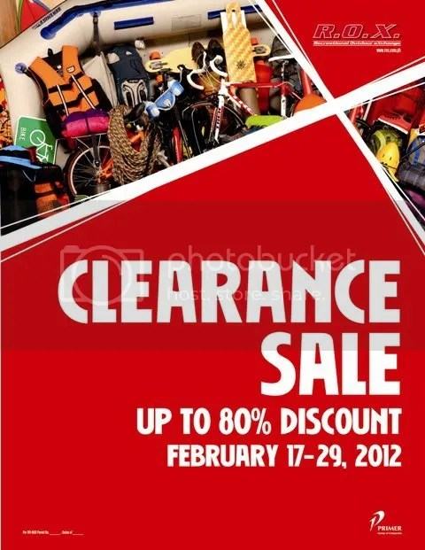 62ae9989f89f R.O.X is on clearance sale now and you can get up to 80% discount from  February 17-29
