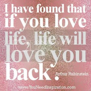 Quotes-about-life-If-you-love-life-Life-will-love-you-back Pictures, Images and Photos