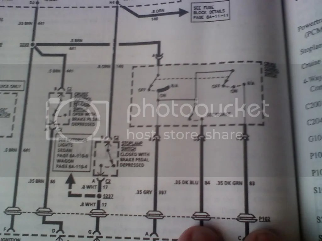 Need Cruise Control Wiring Diagram