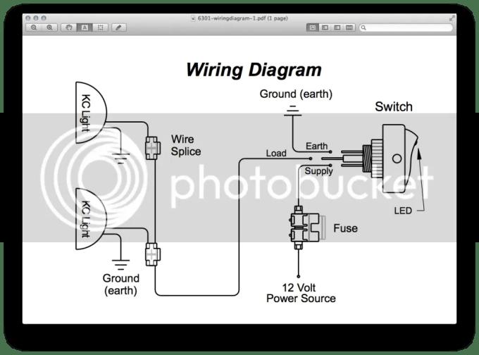 wiring up kc lights