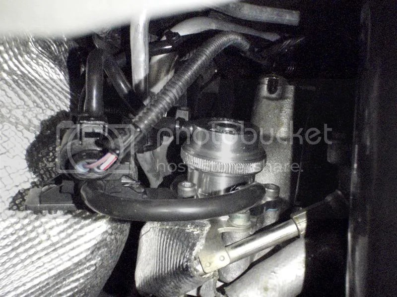 CMount Forge DV to the turbo housing using the original screws and attach the vacuum tap line to the solenoid