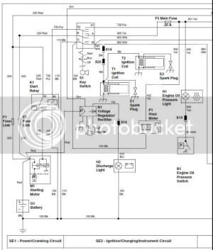 John Deere 757 not charging electrical   LawnSite