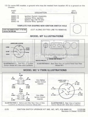 Walker Mower Ignition Switch | Page 2 | LawnSite