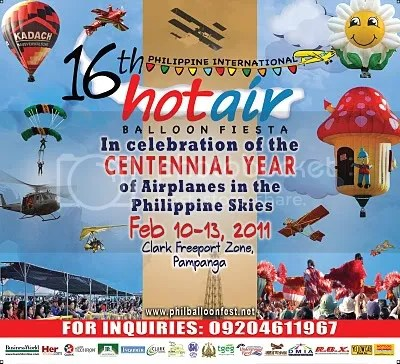 16th Philippine Int; Hot Air Balloon Fiesta