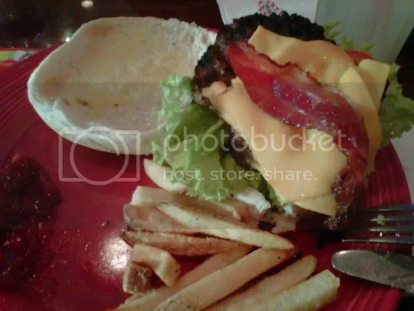 tgif burger and fries