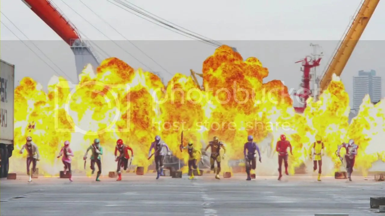 Go-Busters vs Gokaiger