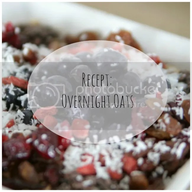 Recept: Overnight Oats