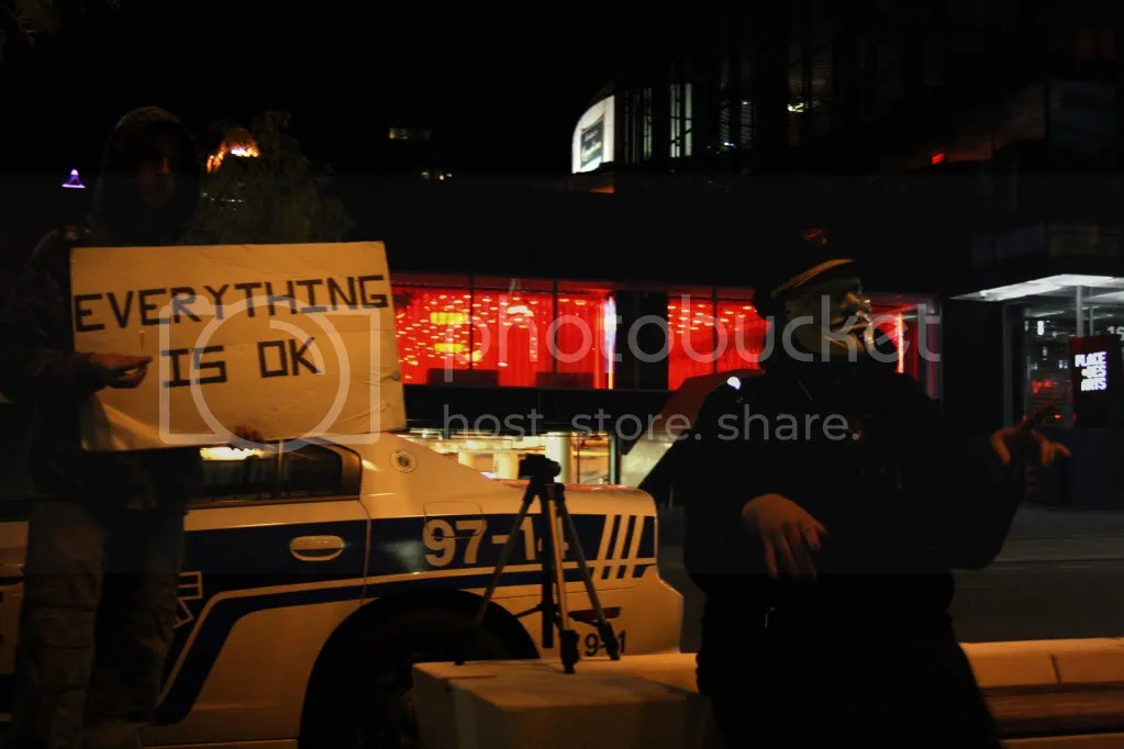 2012-10-20 - #manifencours contre LA ANTI-ÉMEUTE