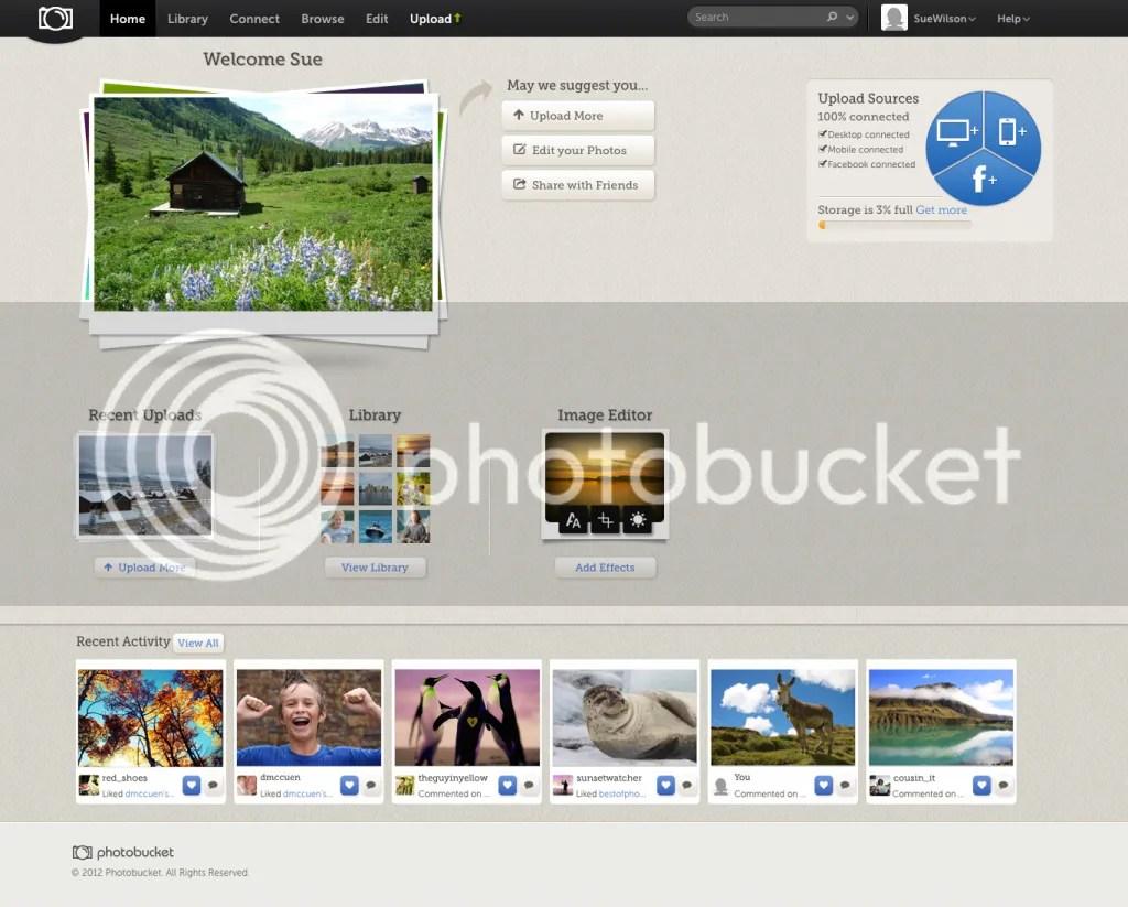 Photobucket screenshot