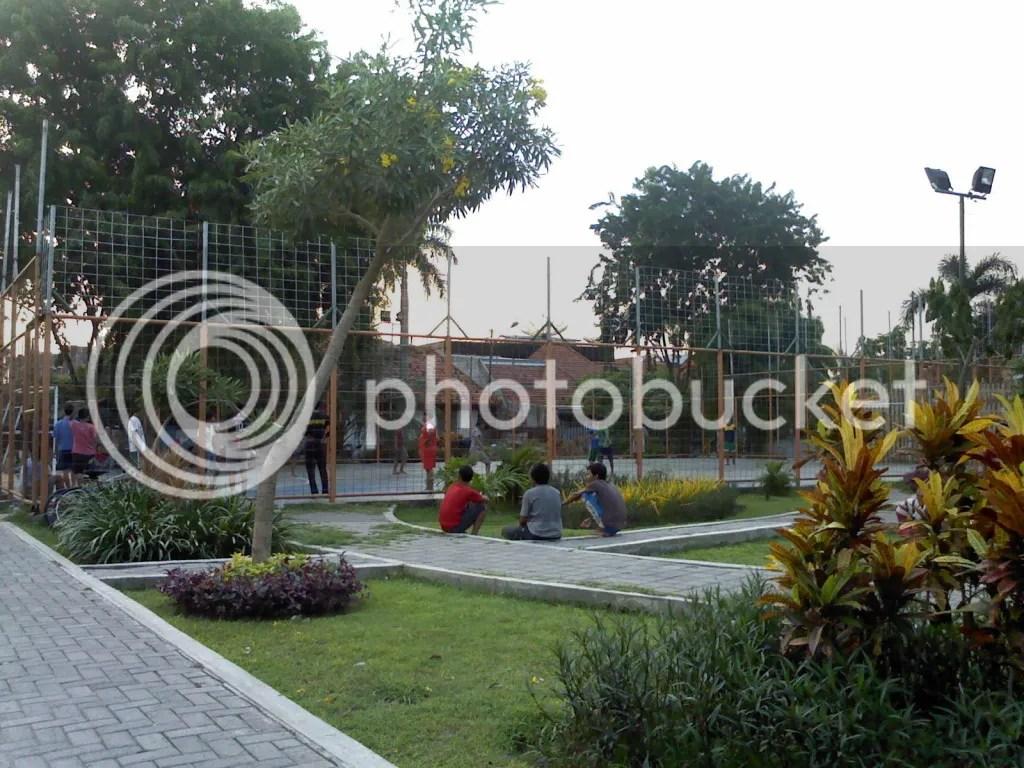 Taman Teratai, Lapangan Futsal di Taman Teratai