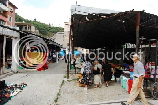Bazaar in Permet