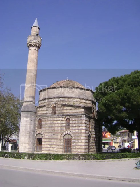The mosque in Vlore center