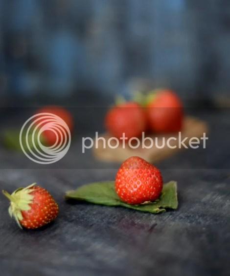 strawberry mastani