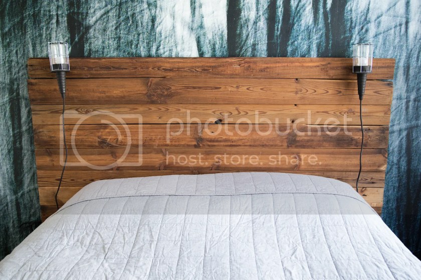 DIY sengegavl / DIY wooden headboard