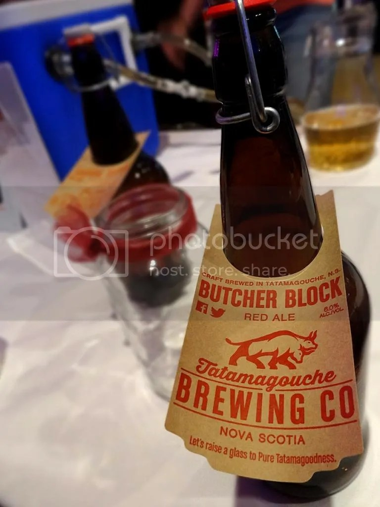Butcher's Block Red from Tatamagouche Brewing Company at Celtic Oktoberfest