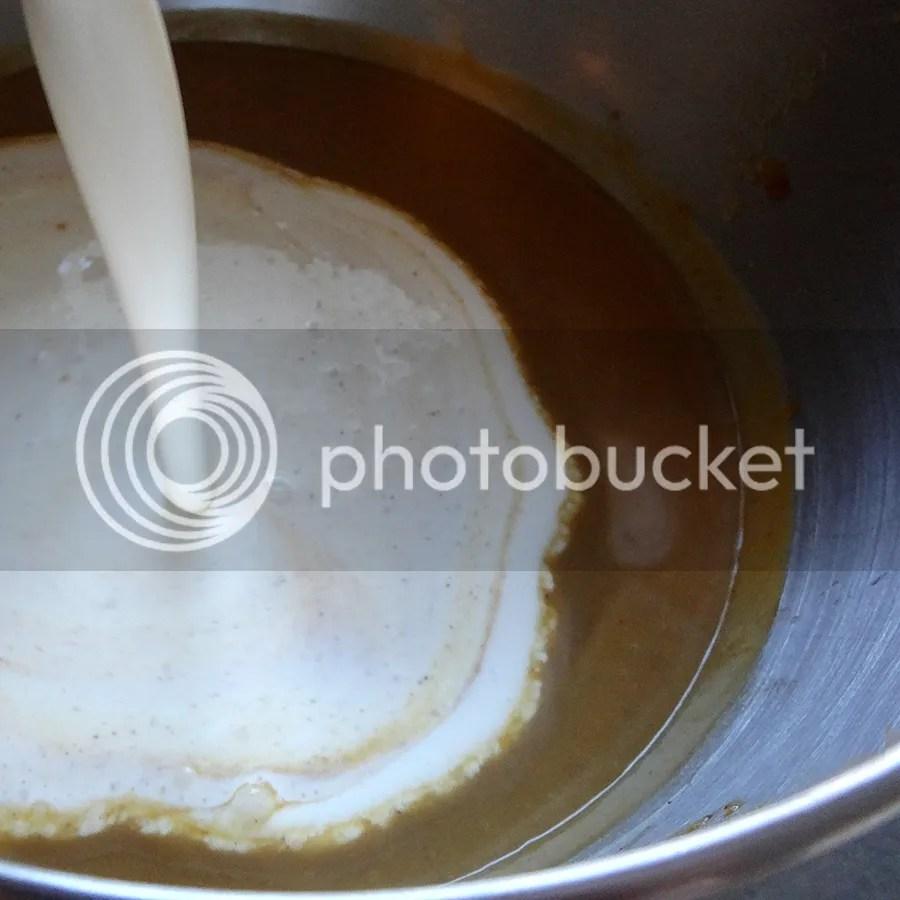 Add whipping cream