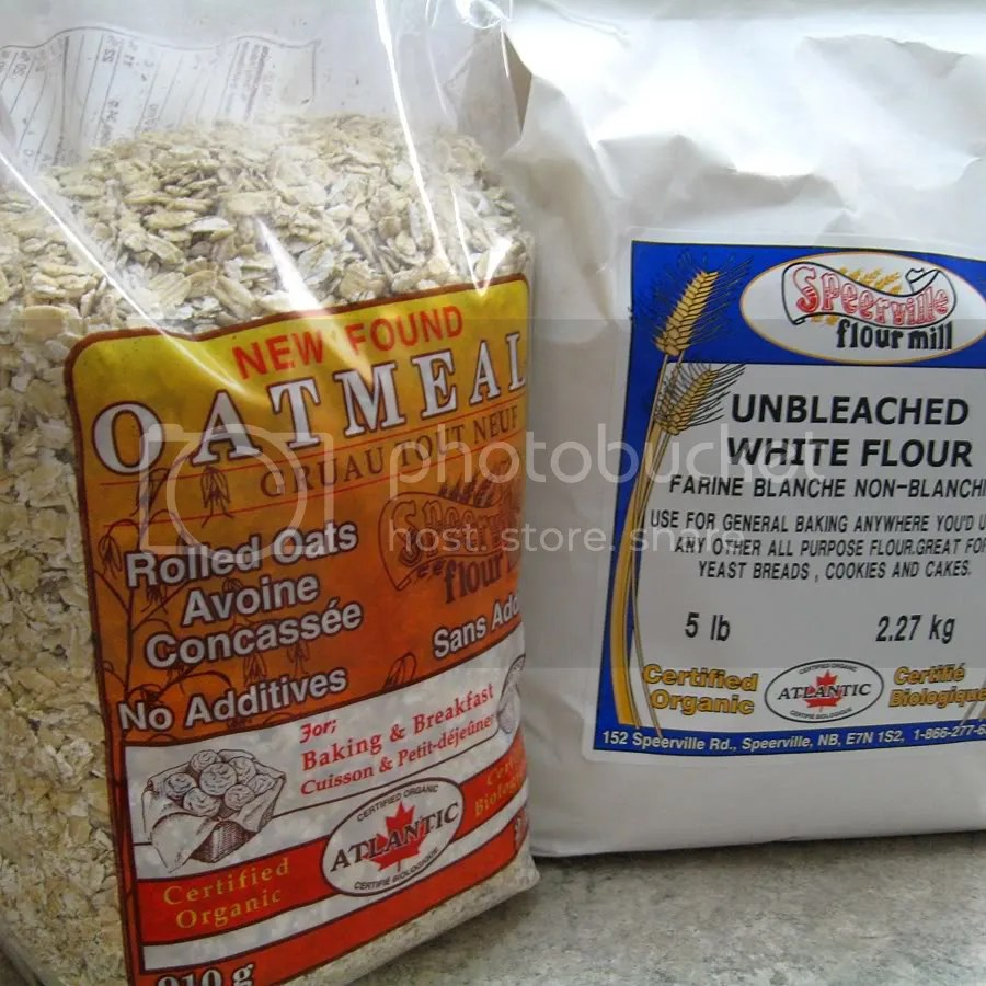 flour and oats