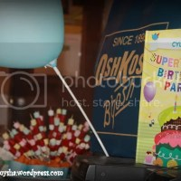 Cyler's Super Duper 2nd Birthday: Rounding Up the Details and DIY's