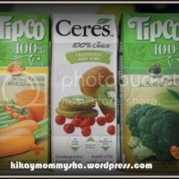 Mommy Finds: Ceres and Tipco 100% Fruit and Veggie Juices