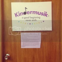 Cyler's 1st Day at Kindermusik