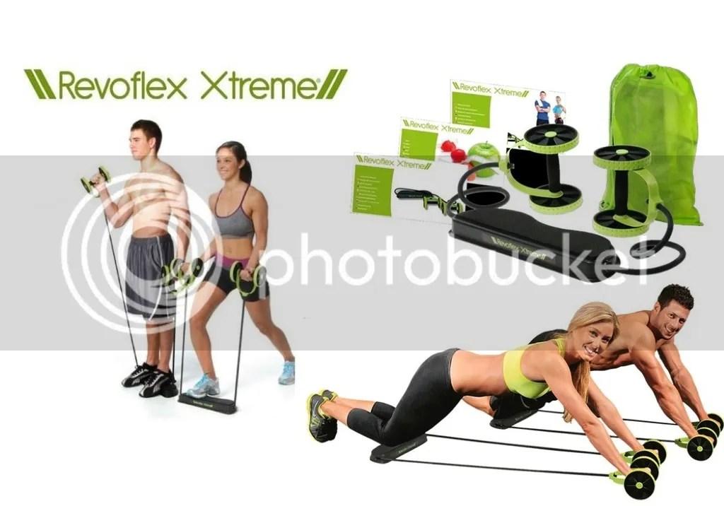 Alat Gym Untuk Mengecilkan Perut Wanita Dengan Revoflex Xtreme