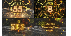 VideoHive: New Year Countdown 2019 21080880 (AE-Project)