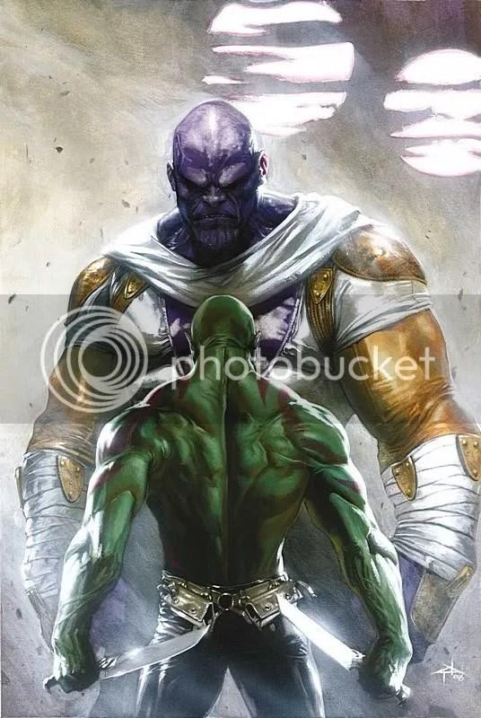Thanos, Drax, Annhilation
