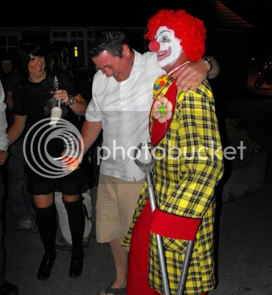 A fecking clown