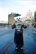 Bill Boorman Running London Marathon as a Clown