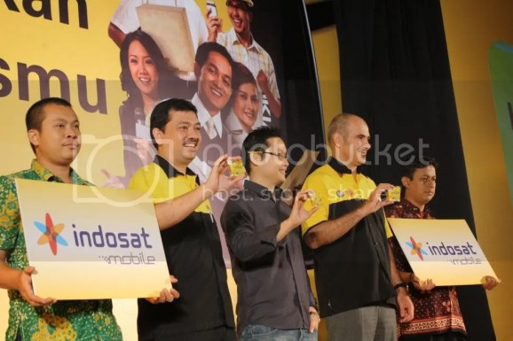 Launching Indosat Mobile
